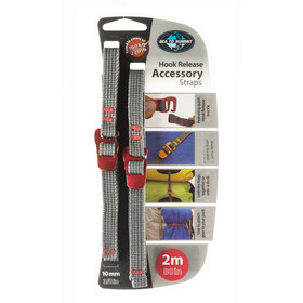 Sea to Summit Hook Release Accessory Straps 10mm/2m, red
